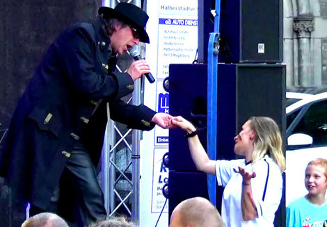 Udo Lindenberg Double Cello
