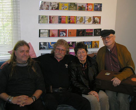 "Hugo Laartz, Uschi Brüning und Ernst-Ludwig Petrowski ""40 Jahre Modern Soul Band"""
