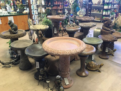 Birdbaths from Fiore Stone