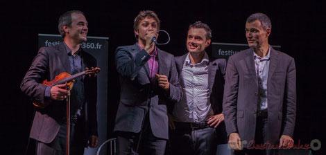 Jean Lardanchet, Laurent Vincenza, Sylvain Pourrat, Yannick Alcocer, Minor Sing. Festival JAZZ360, Latresne