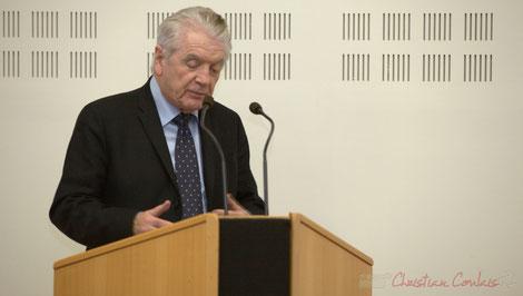 Philippe Madrelle, Président du Conseil général de la Gironde, Sénateur