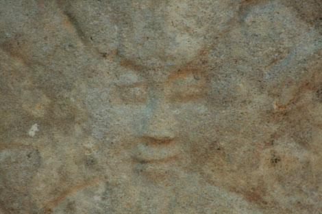 Mystérieuse croix au monogramme F © C. Coulais