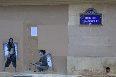 Rue du Transvaal, Paris 20ème arrondissement