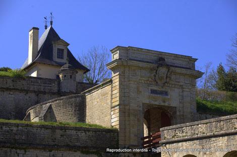 Citadelle construite par Vauban entre 1685 et 1689. Blaye