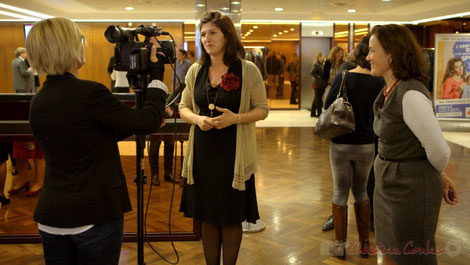 Anne-Laure Fabre-Nadler, Gérard Poisbelaud et Mathilde Feld se rendent seuls ua Conseil départemental