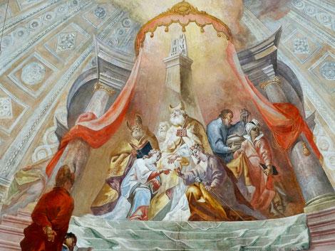 Vermählung von Maria und Josef im Tempel