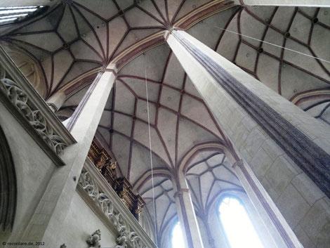 Deckenarchitektur St. Martin