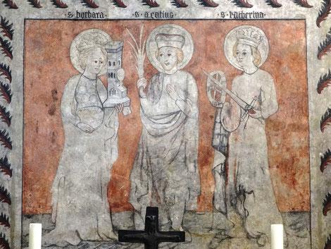 Fresken St. Barbara, Abensberg