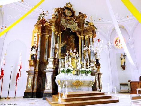 Hochaltar Maria Verkündigung, Ebensfeld