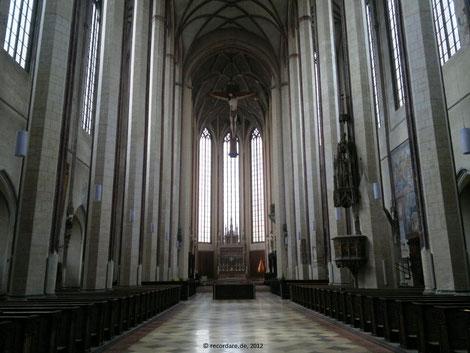 Kirchenschiff St. Martin