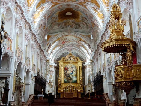 Innenraum Freisinger Dom