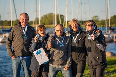 2. Platz Hajo Massell und Crew der SUB DiVO (ESSO)
