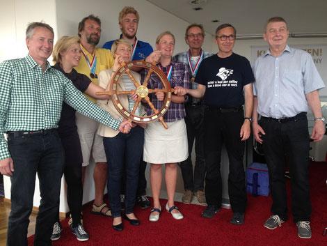 Hamburger Meister 2016 Die Segler des Lufthansa Sportvereins
