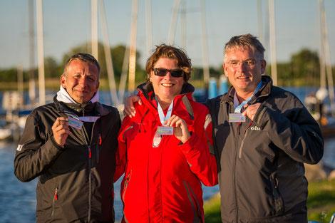 3. Platz Michael Hirschfelder und Crew der Albatros (LSV)