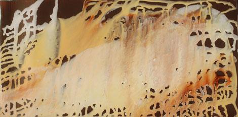 Nr. 2014-HO-015: 25 x 50 cm, Acryl auf Plexiglas