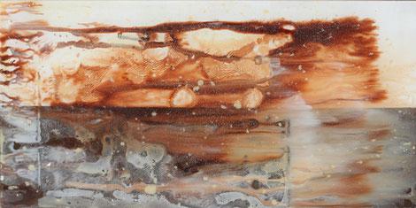 Nr. 2014-HO-014: 25 x 50 cm, Acryl auf Plexiglas