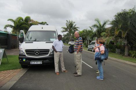 Jabulani Gruppenreisen im Kleinbus