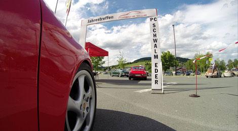 Porsche 912 Urzwölfer Fotostrecke Porschetreffen Willingen