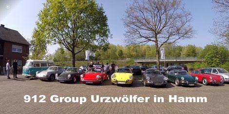 Porsche 912 Urzwölfer Fotostrecke 912  Treffen Sektion SÜD