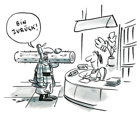 Illustration von Mock zum Thema Praxis