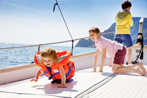 Segelreisen für Familien