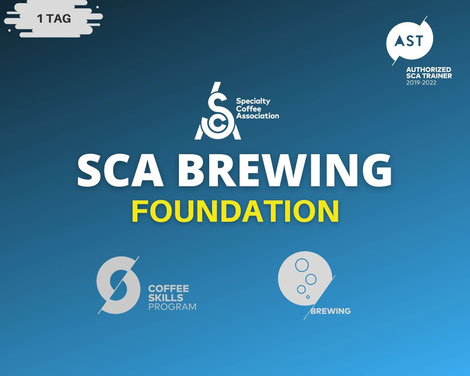 SCA Brewing Foundation Ausbildung