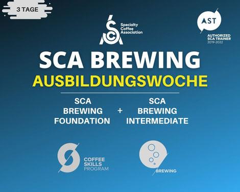 SCA Brewing Ausbildungswoche