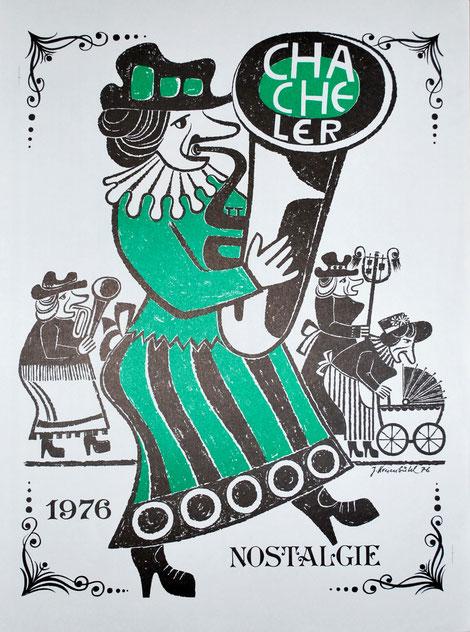 1976 Druck von Seppi Kreienbühl