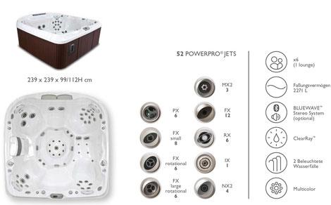 S&K GmbH Jacuzzi Whirlpool - J480 Premium