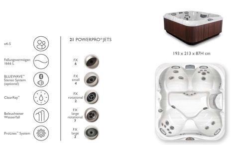 S&K GmbH Jacuzzi Whirlpool -J325 Premium