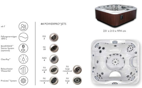 S&K GmbH Jacuzzi Whirlpool - J365 Premium