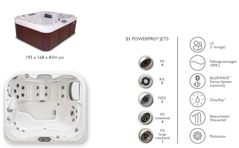 S&K GmbH Jacuzzi Whirlpool - J415 Premium
