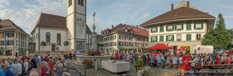 Schweizer Bundesfeier 2016, Huttwil, 1.August-Feier