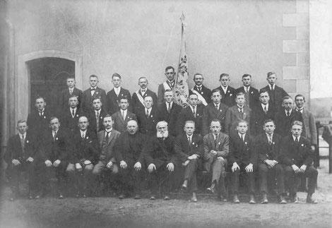 1927 - Chorfoto zum Neujahrstag