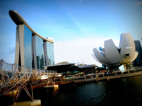 © Winifred. Marina Bay Sands, Singapore. Sharing a gorgeous piece of Singapore, my home.