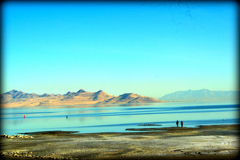 © Winifred. The Great Salt Lake, Utah. Tranquil and expansive.