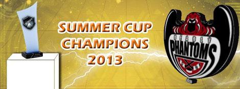 DEASHL Summer Cup Champions 2013 - Deadly Phantoms HC
