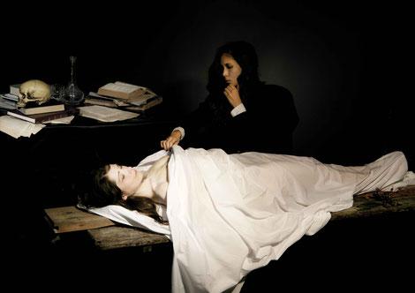 Fotografische Reproduktion von »Der Anatom« von Max Gabriel