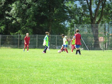 Fussballcamp der E-Jugend im BLSV Sportcamp Inzell Juni 2013
