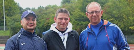 coaches Murat - Patrick - Erich