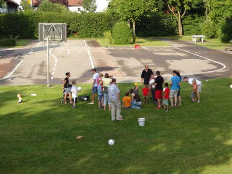 Sommerfest 28.07.2012 - Ein toller Team-Nachmittag geht zu Ende