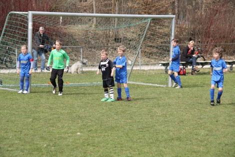 Spielsituation SC Baldham-Vaterstetten 8 - TSV Poing F3 vom 24.03.2012
