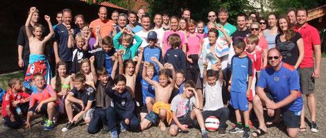 Die ganze 2003er Familie in Inzell 2013