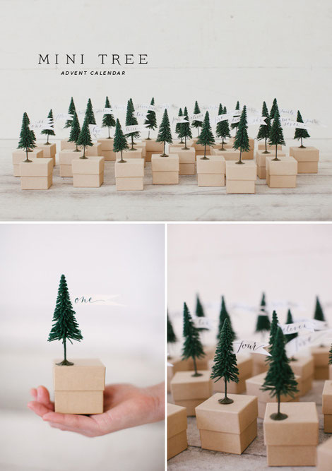 Collection of DiY Advent Calendars including this one via mayricherfullerbe.com