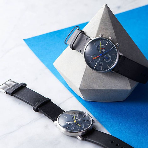 C200 B Chronograph Watch by Paulin, Concrete Diamond by PASiNGA