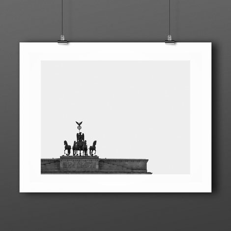 Photographic Art Print 'Brandenburger Tor' by PASiNGA