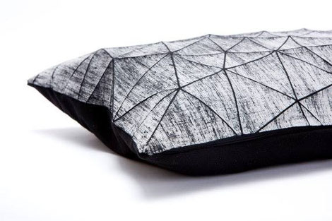 Geometric Cushion Designs by Mika Barr