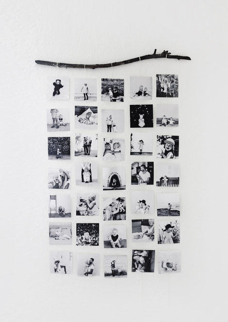 Picture Rail, Wall Hanging DIY by Kelli Murray