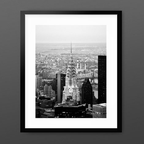 Photographic Art Print 'Chrysler Building at Nightfall' by PASiNGA