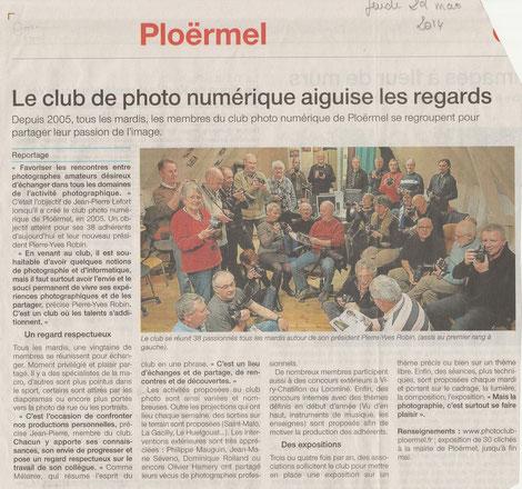 Le club de photo vu par la presse